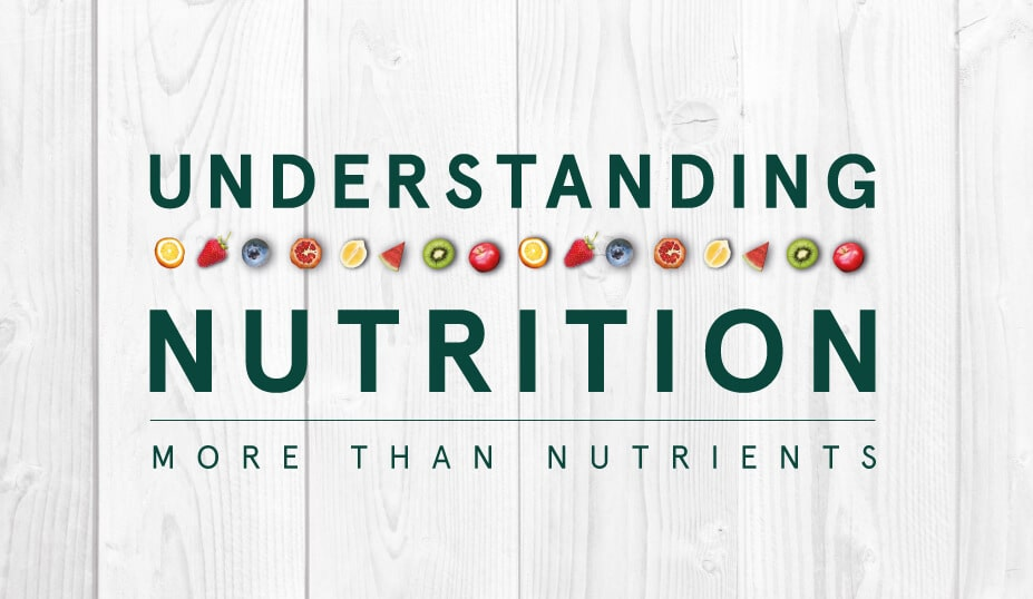 understanding nutrition - how does meal prep fit?