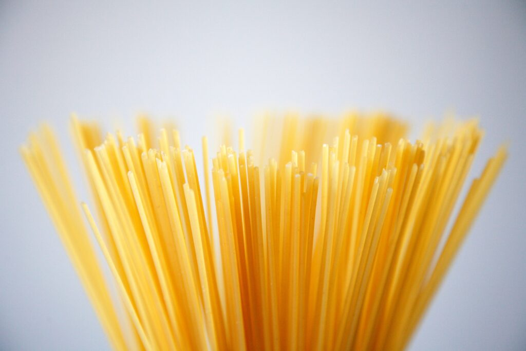 pasta complex carbohydrate food types