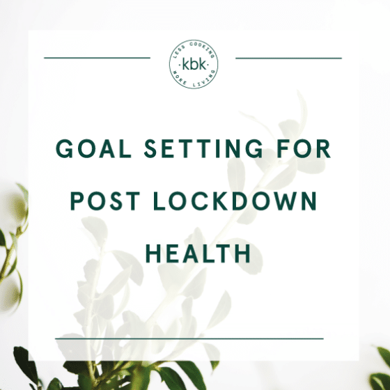 Setting goals for your health