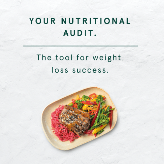 your nutritional audit for weight loss