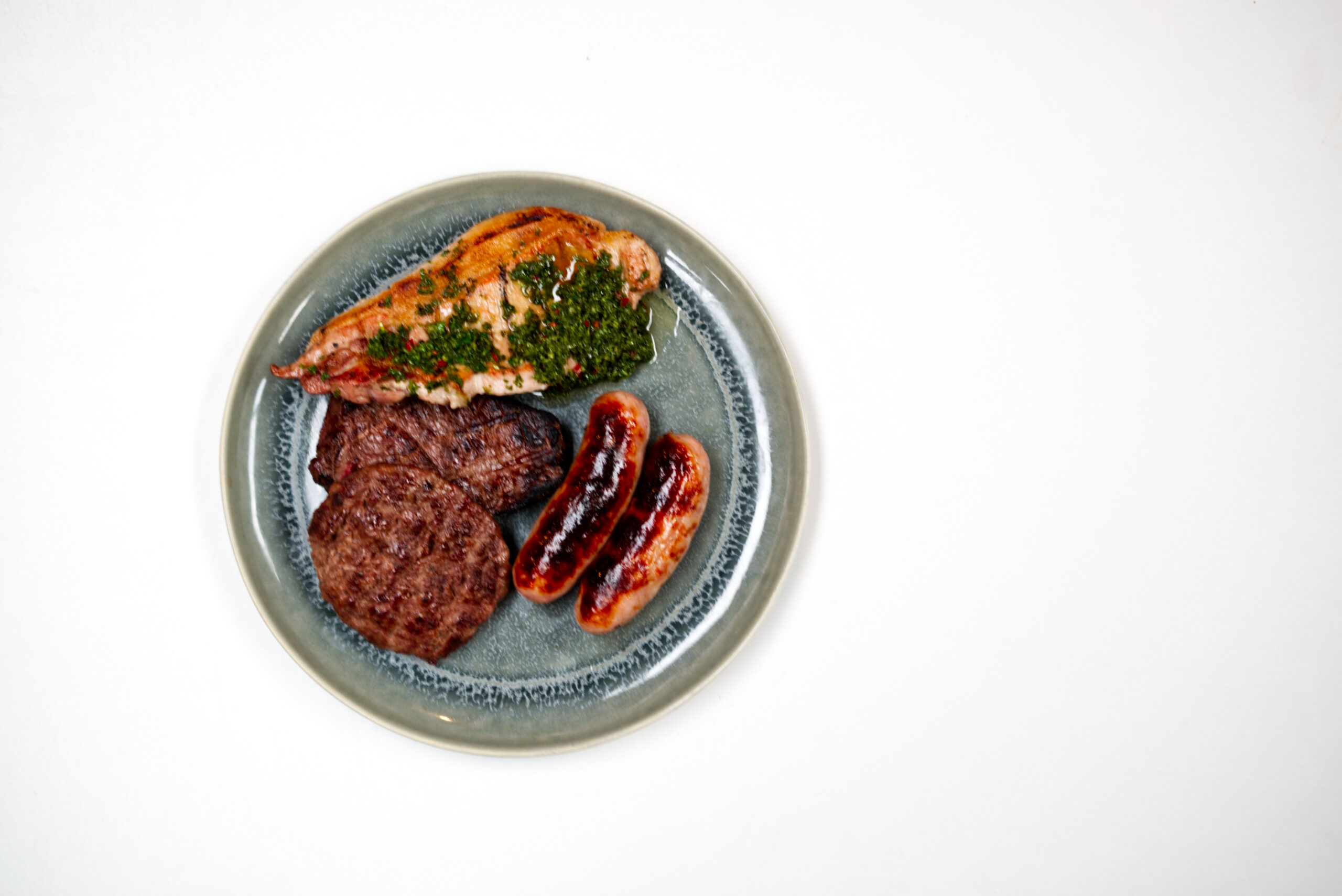 KBK Cooked meat plate