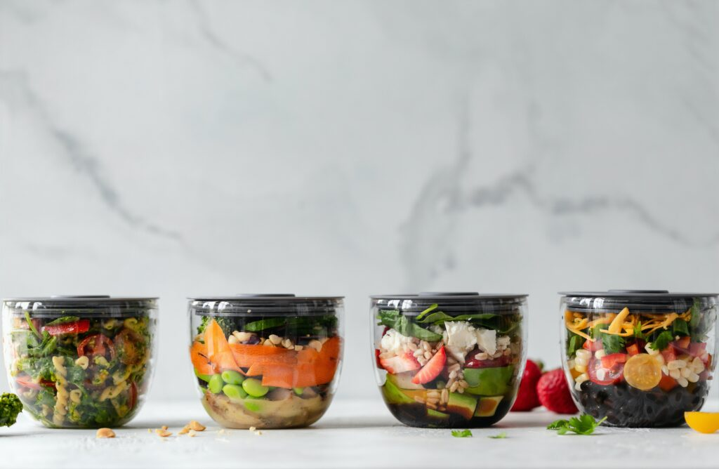 meal prep pots to answer health questions