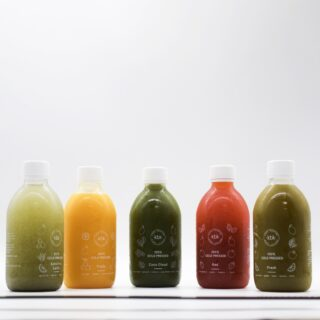 All flavours of KBK juice cleanse