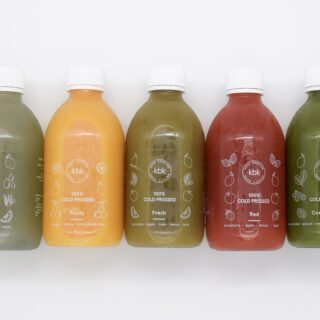 KBK fresh juice cleanse bottles