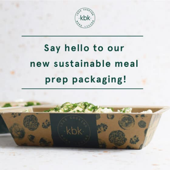 KBK sustainable meal prep packaging
