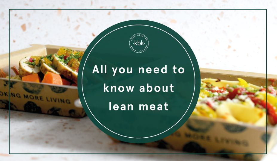 Lean meat list banner