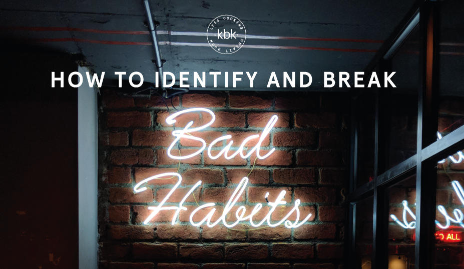 bad habits with food