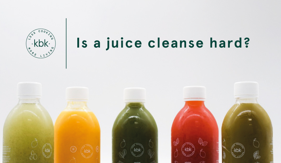 Juice Cleanse Difficult Banner