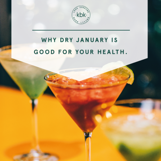 Dry January Health Benefits